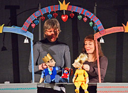Kinderpuppentheater in der Stadthalle